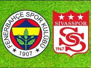 Fenerbahçe-Sivasspor Maçının Galibi Fenerbahçe Oldu